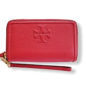 Tory Burch Thea SmartPhone Wallet Wristlet Leather